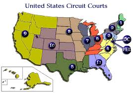 federal circuit court map map of the federal circuit courts