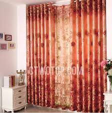 Burnt Orange Curtains Room Darkening Bedroom Burnt Orange Curtains