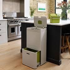 grande poubelle de cuisine meuble cache poubelle cuisine maison design bahbe com
