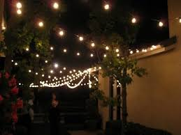 amazon outdoor string lights 50 foot globe patio string lights set of 50 g40 clear bulbs with