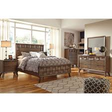 signature design by ashley debeaux medium brown panel bed free