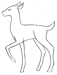 outline drawing of animals drawing sketch picture