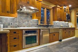 decor fabulous small kitchen design with custom natural wooden