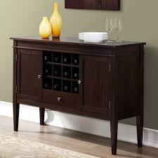 Small Sideboard With Wine Rack Enchanting Buffet With Wine Rack Decor Ideas Home Furniture