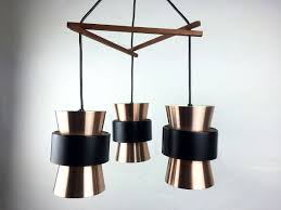 Copper Ceiling Light Three Piece Copper Ceiling Light By Jo Hammerborg For Fog U0026 Mørup