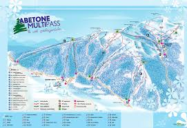 Piste Maps For Italian Ski by Abetone Trail Map