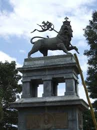lion of judah statue the lion of judah monument addis ababa online aao