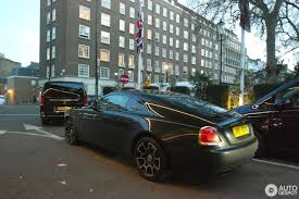 roll royce london rolls royce wraith black badge 24 december 2016 autogespot