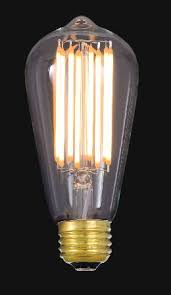 medium base e26 antique style filament light bulbs chandelier