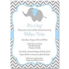 baby boy shower invites elephant baby shower invitations sprinkle boys