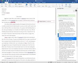 annotate for word grading essays with microsoft word