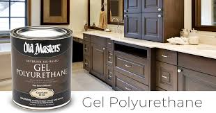 how to get polyurethane cabinets masters on our based gel polyurethane is a