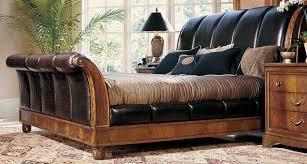 Mahogany Sleigh Bed King Size Mahogany Sleigh Bed Mahogany Sleigh Bed U2013 Andreas King Bed