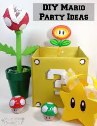 Super Mario Decorations Diy Mario Party Decorations Inexpensive Srilaktv Com