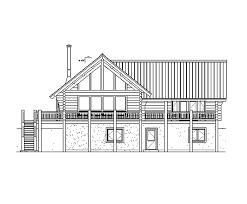 Chalet Building Plans Log Home Floor Plan Alpine Chalet