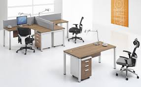 Cf L Shape Workstation  Seater Desk For Small Office Furniture - Small office furniture