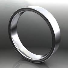 white gold wedding bands for men brushed satin men s wedding band the archer band