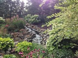 Waterfall In Backyard Ponds And Waterfalls