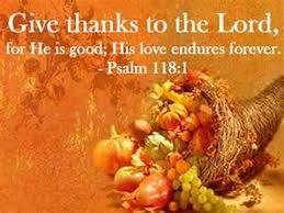 thanksgiving psalm 135