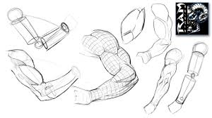 how to draw arms step by step narrated tutorial youtube