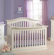 White Convertible Baby Crib Baby Cache Montana 4 In 1 Convertible Crib Glazed White Babies