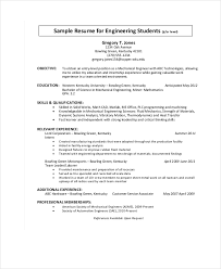 Mechanical Maintenance Resume Sample by 9 Engineering Resumes Free Sample Example Format Free