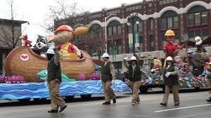 thanksgiving parade detroit 2016 part1