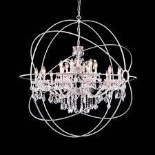 Sphere Chandelier With Crystals Beautiful Sphere Chandelier With Crystals The Most Amazing Light