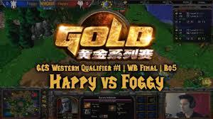 warcraft 3 happy u vs foggy n gcs western qualifier 1