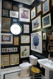 bathroom artwork ideas bathroom artwork guest bathroom after black walls marble floors and