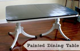 Painted Dining Room Sets Painted Dining Room Furniture Large And Beautiful Photos Photo