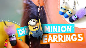 minion earrings passtime diy 06 how to make quilling paper minion earrings in 3