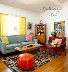 Top  Best Retro Living Rooms Ideas On Pinterest Retro Home - Vintage design living room