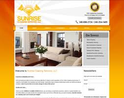 home design site cleaning company business website designing