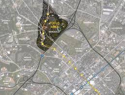 Zip Code Map Charlotte Nc Historic West End Charlotte Center City Partners