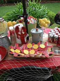 crawfish decorations best 25 crawfish party ideas on seafood boil party