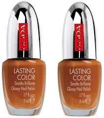 set of 2 pupa lasting color glossy nail polish 513 african
