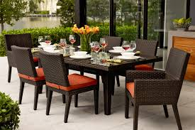 cool wrought iron patio dining table outdoor furniture hccf