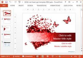 heart design for powerpoint free new year powerpoint templates slidehunter com
