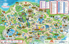 Map Of Balboa Park San Diego by Seaworld San Diego Guide