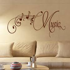 Room Wall Decor by Large Music Room Wall Quote Giant Art Sticker Transfer Decoration