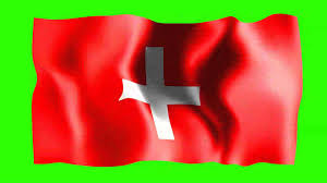 Irish Flag Gif Switzerland Waving Flag Free Hd Green Screen Animation Youtube