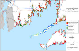 Map Of Eastern Massachusetts Sea Level Rise Planning Maps Likelihood Of Shore Protection In