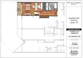 Msg Floor Plan by Msg Departamentos Y Estudios En Pozo U2013 Forma De Pago 15