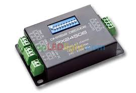 px24506 dmx512 199 0 decoder controller 3 channels for rgb led