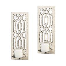 Shabby Chic Candle Sconces Shabby Chic Style Furniture And Free Shipping