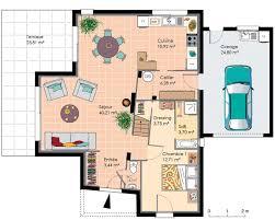 faire plan de cuisine plan d une maison moderne exemple de cuisine 4 dune contemporaine