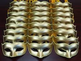 masquerade mask in bulk masquerade mask party pack gold