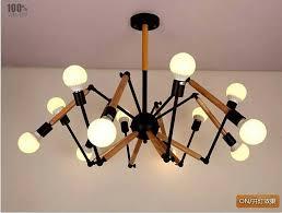 Chandelier With Edison Bulbs Aliexpress Com Buy Wood Vintage Industrial Nordic Loft Edison
