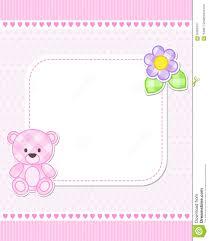 pink teddy bear card stock vector image 56900875